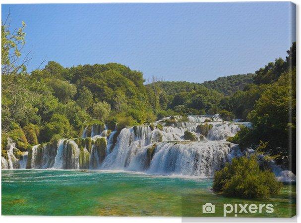 Cuadro en Lienzo Cascada KRKA en Croacia - Temas