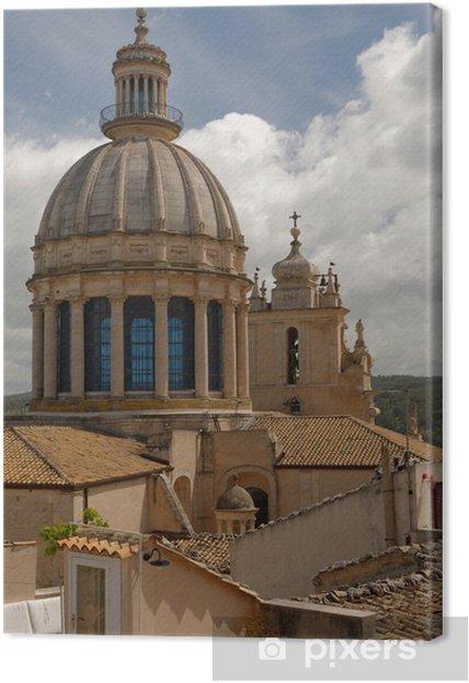 Cuadro en Lienzo Catedral de Ragusa de San Jorge - Europa