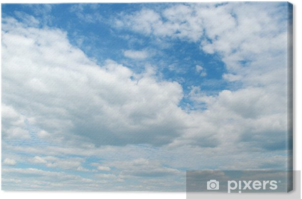 Cuadro en Lienzo Cielo azul - Cielo