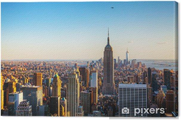 Cuadro en Lienzo Ciudad de Nueva York paisaje urbano -
