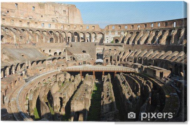 Cuadro En Lienzo Coliseo Romano Antiguo En Roma Italia Pixers