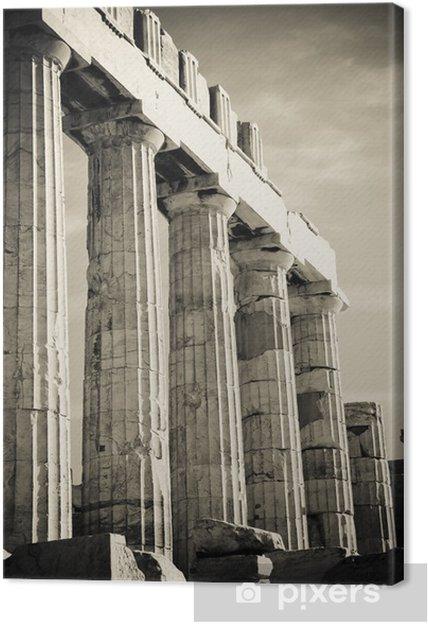 Cuadro en Lienzo Columnas griegas - Temas