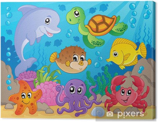 Cuadro en Lienzo Coral reef imagen Tema 5 - Temas