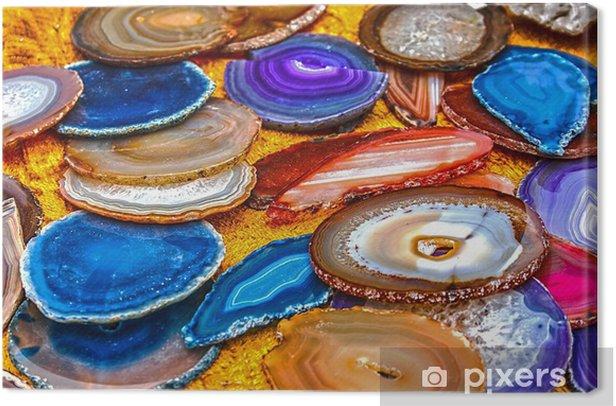 Cuadro en Lienzo Cristales de energía 3 - Maravillas de la naturaleza