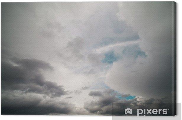 Cuadro en Lienzo Dark sky - Cielo