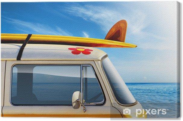Cuadro en Lienzo De Surf - iStaging