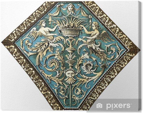 Cuadro en Lienzo Decoración del techo (Arca) del Palazzo Doria Tursi, Génova - Casa y jardín