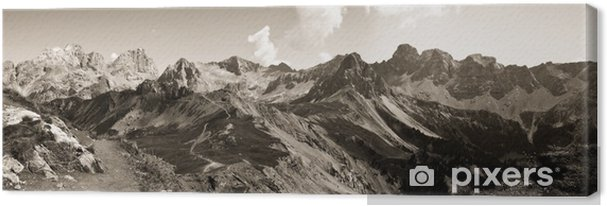 Cuadro en Lienzo Dolomitas - Trentino Alto Adige (Italia) - Europa