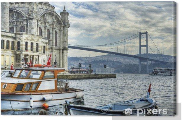 Cuadro en Lienzo Donde se unen dos continentes: Estambul - Europa