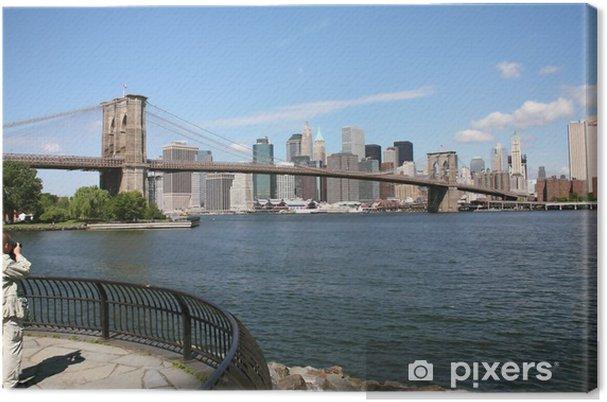 Cuadro en Lienzo EE.UU., Nueva York - Ciudades norteamericanas