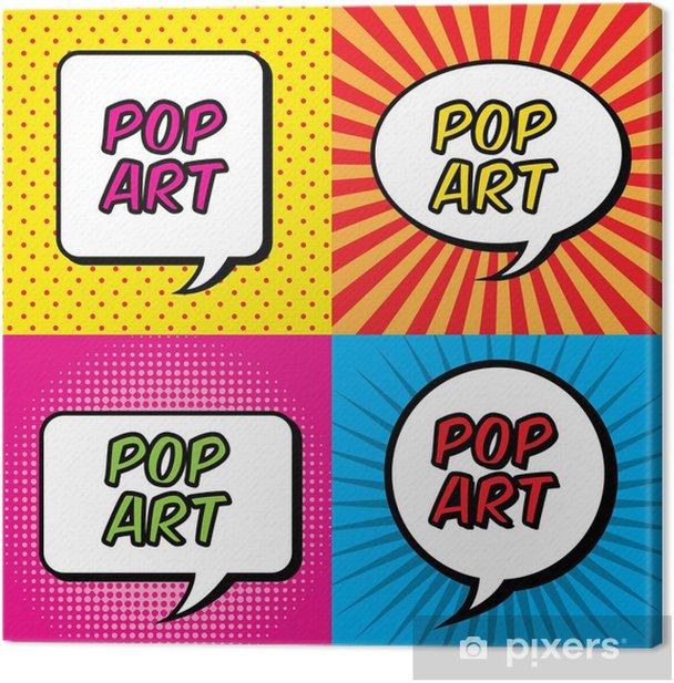 Cuadro en Lienzo El arte pop - Cielo