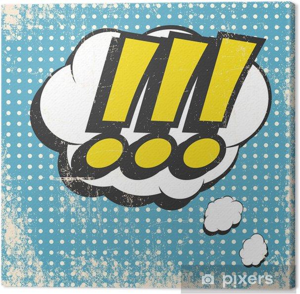 Cuadro en Lienzo El arte pop - Fondos