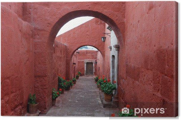 Cuadro en Lienzo El monasterio de san sebastian arequipa - América