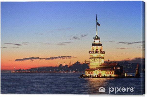 Cuadro en Lienzo Estambul Maiden Tower desde el este - Faro