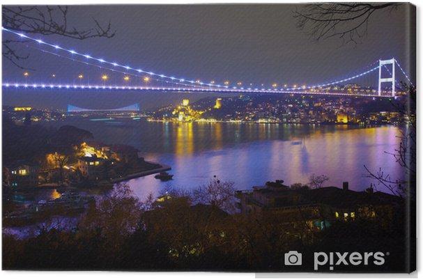 Cuadro en Lienzo Fatih Sultan Mehmet puente en la noche de 6 - Temas