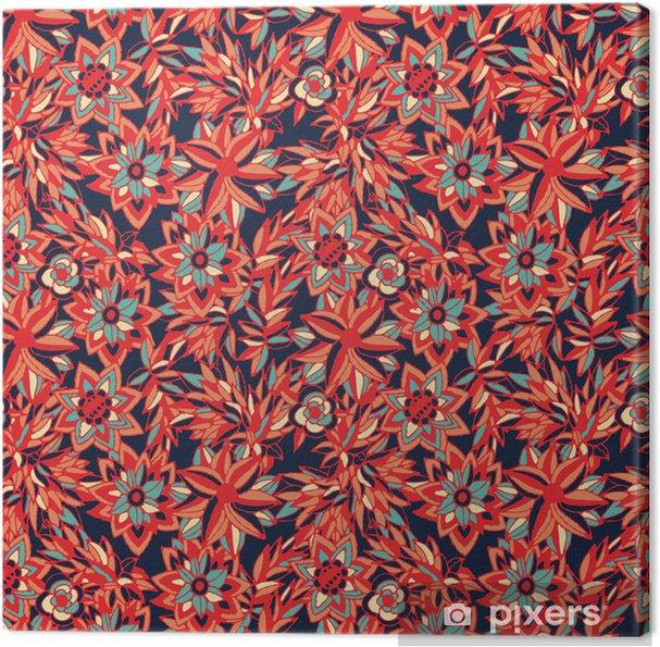 Cuadro en Lienzo Florecitas - Texturas