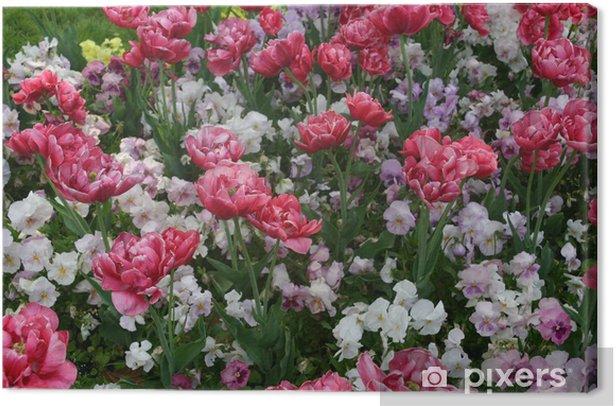 Cuadro en Lienzo Florecitas - Belleza y cuidado personal