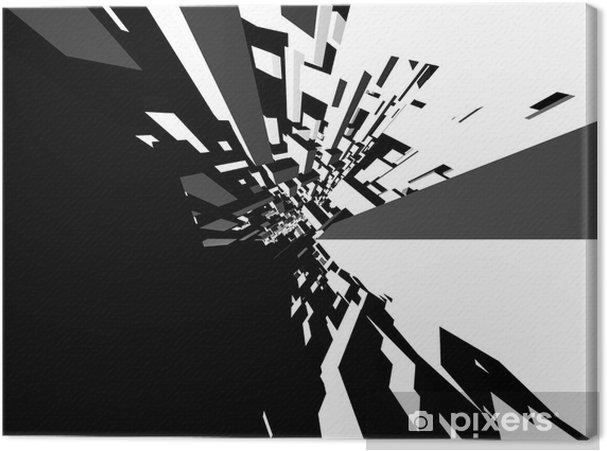 Cuadro en Lienzo Fondo abstracto arquitectura • Pixers® - Vivimos ...