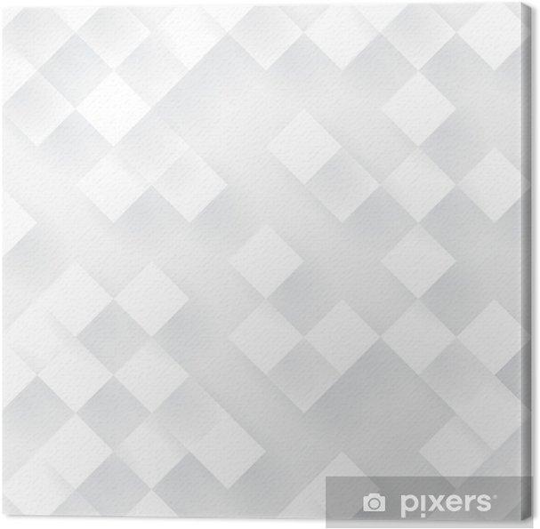 Cuadro en Lienzo Fondo blanco la geometría de vectores. - Fondos