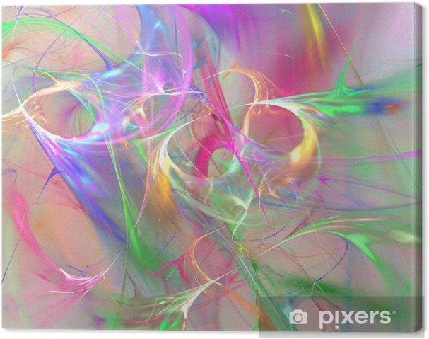 Cuadro en Lienzo Fondo colorido abstracto -