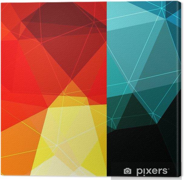 Cuadro en Lienzo Fondo del bloque del color - Recursos gráficos
