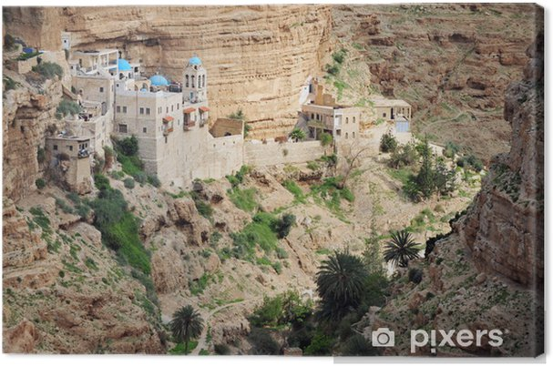 Cuadro en Lienzo Fotos de viajes de Israel - desierto de Judea - Oriente Medio