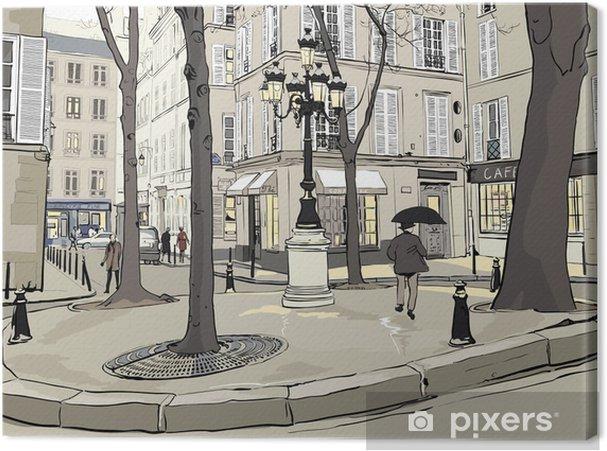 Cuadro en Lienzo Furstemberg plaza en paris - Ciudades