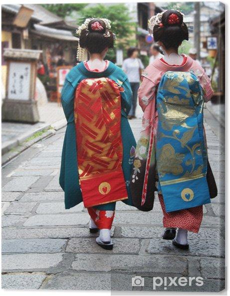 Cuadro en Lienzo Geisha Girls - Asia