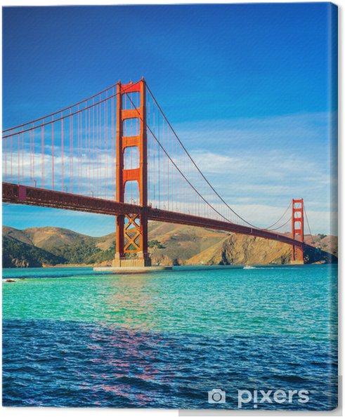 Cuadro en Lienzo Golden Gate, San Francisco, California, EE.UU.. - Ciudades norteamericanas