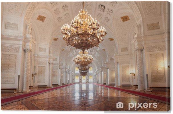 Cuadro en Lienzo Gran Palacio del Kremlin, hall Georgievsky - Moscú