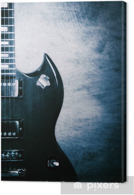 Cuadro en Lienzo Guitar eléctrico - Temas