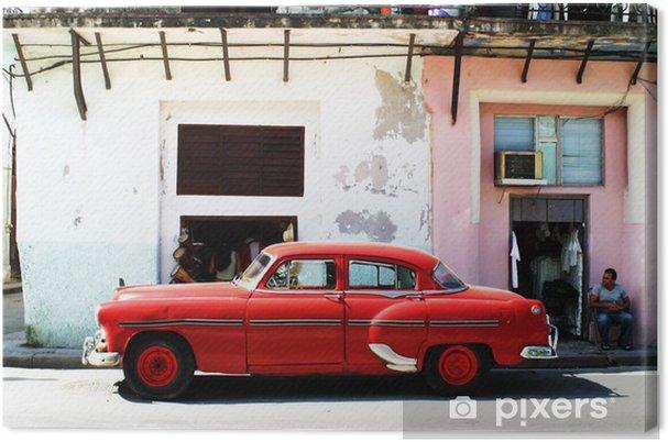Cuadro en Lienzo Havana coche - Cuba