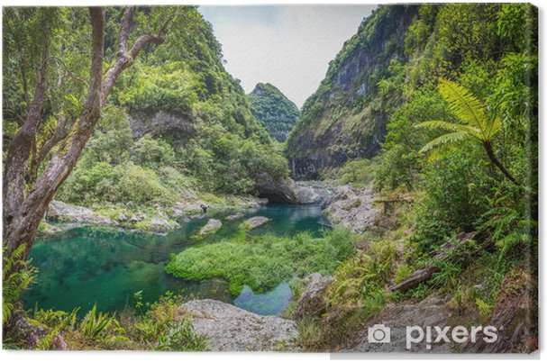 Cuadro en Lienzo Hidden Paradise, Takamaka, La Réunion - Temas
