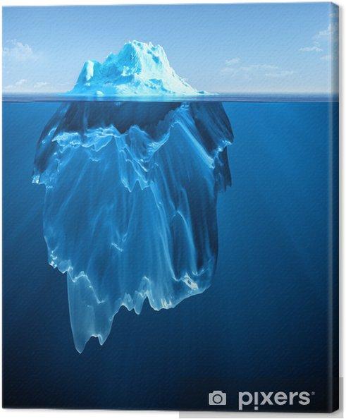 Cuadro en Lienzo Iceberg - Temas