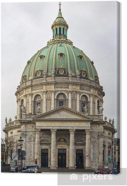 Cuadro en Lienzo Iglesia de Frederik, Copenhague - Temas
