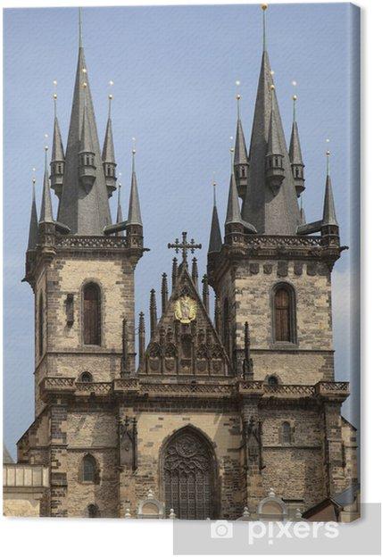 Cuadro En Lienzo Iglesia De Nuestra Senora De Tyn Praga