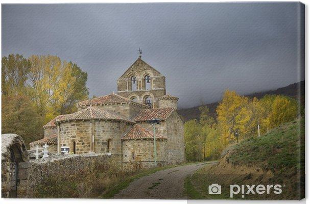 Cuadro En Lienzo Iglesia De San Salvador De Cantamuda