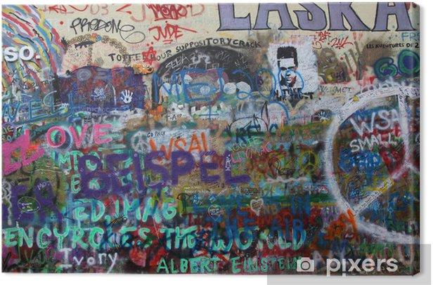 Cuadro en Lienzo John Lennon Varita Praga - Artes y creación