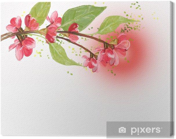 Cuadro En Lienzo La Flor De Cerezo Pixers Vivimos Para Cambiar