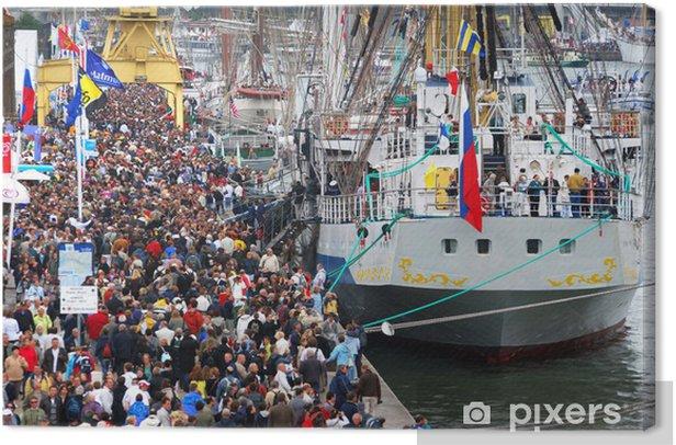 Cuadro en Lienzo La foule de l'armada - Vacaciones