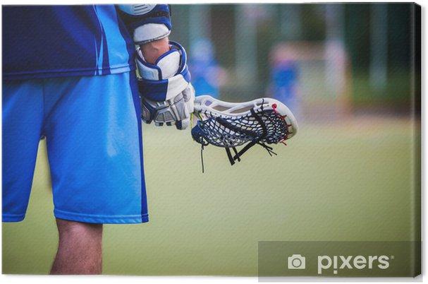 Cuadro en Lienzo Lacrosse - Deportes de equipo