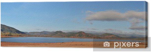 Cuadro en Lienzo Lago salagou - Vacaciones