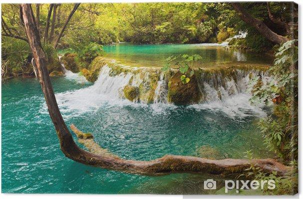 Cuadro en Lienzo Lagos de Plitvice en Croacia - Temas