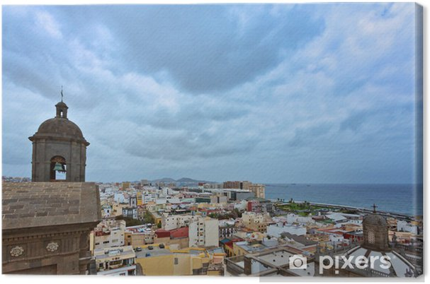 Cuadro en Lienzo Las Palmas von der Catedral de Canarias - Gran Canaria - Europa