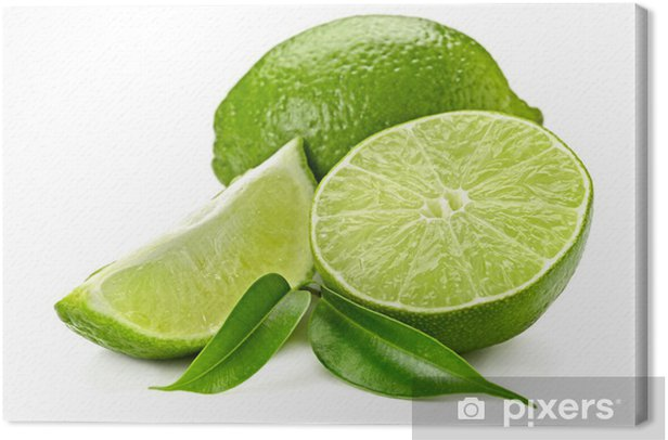 Cuadro en Lienzo Lima - Frutas