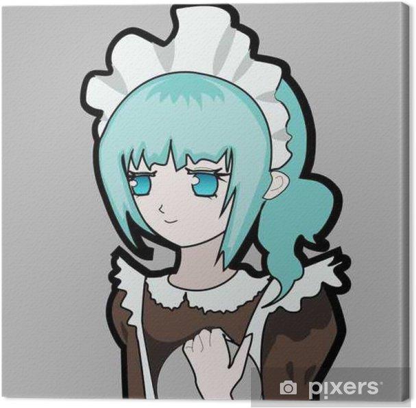 Cuadro en Lienzo Lindo del anime de limpieza - Temas