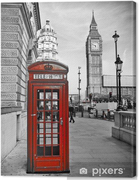 Cuadro en Lienzo Londres impresión -