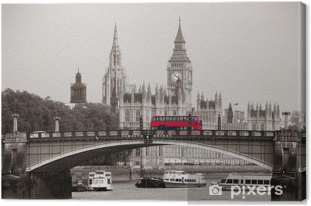 Cuadro en Lienzo Londres -