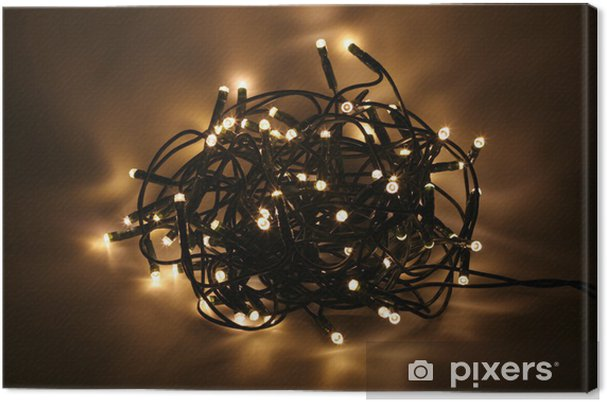 Cuadro En Lienzo Luz Led Pixers Vivimos Para Cambiar - Iluminacion-led-para-cuadros