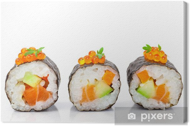 Cuadro en Lienzo Maki Sushi - Temas